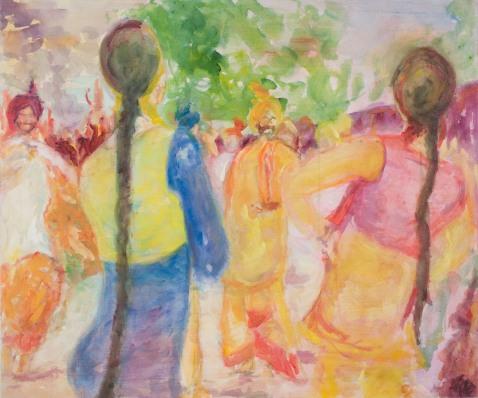"""Boliyan"" - painting by artist Gurpreet Sehra (photo: gurpreetsehra.com)"